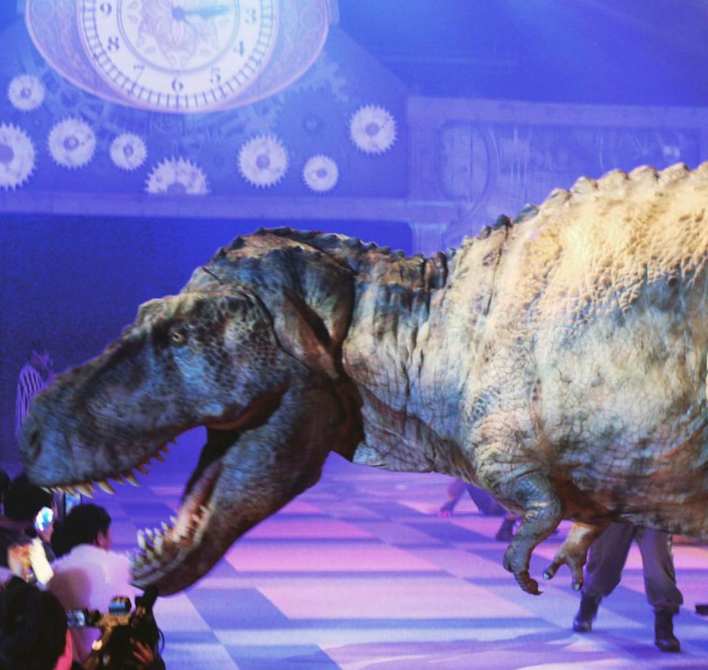 ディノアライブ恐竜
