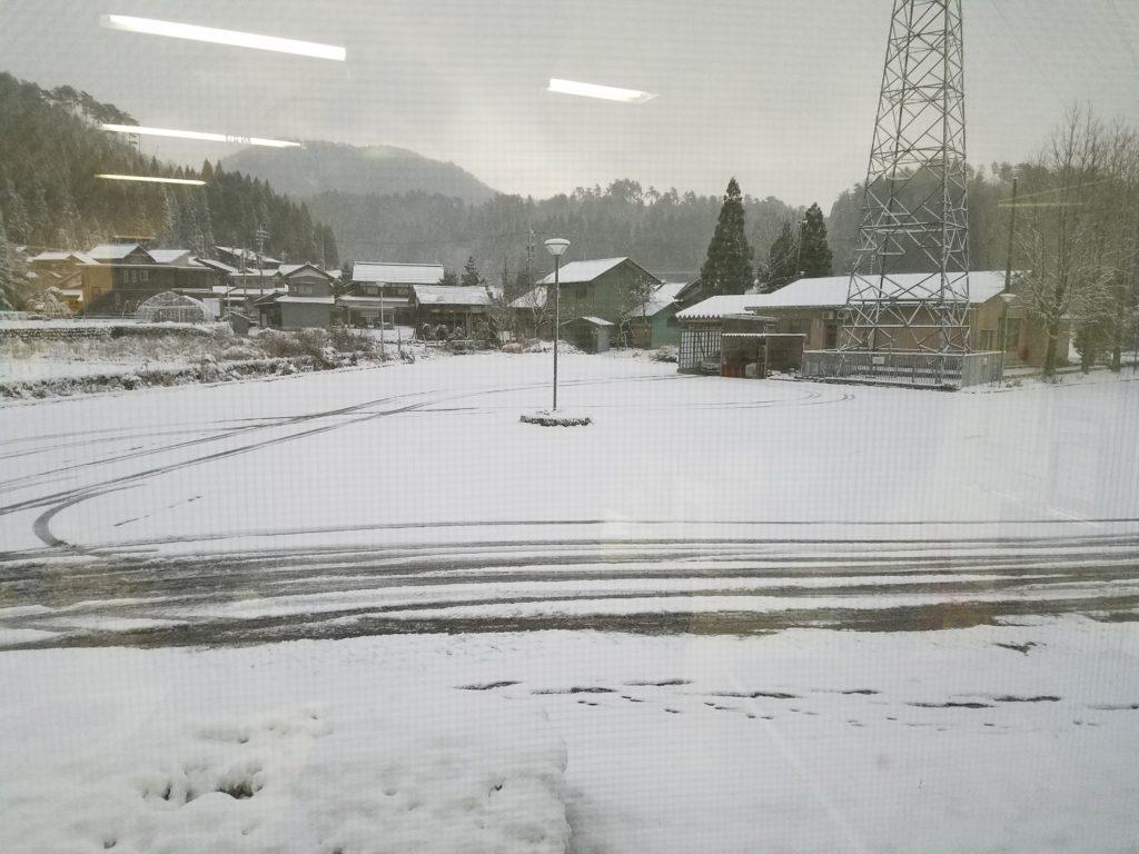 2018年12月28日福井県勝山市降雪(初雪)