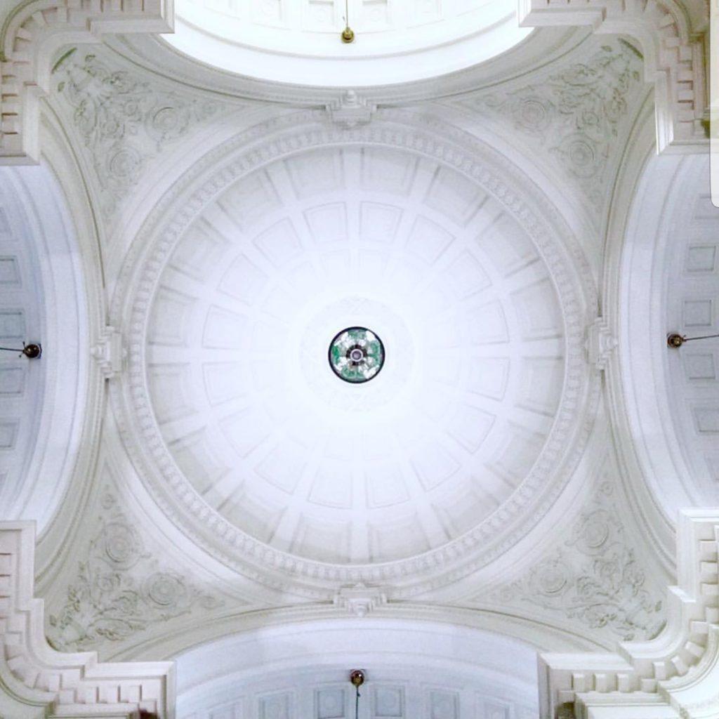 国立科学博物館天井